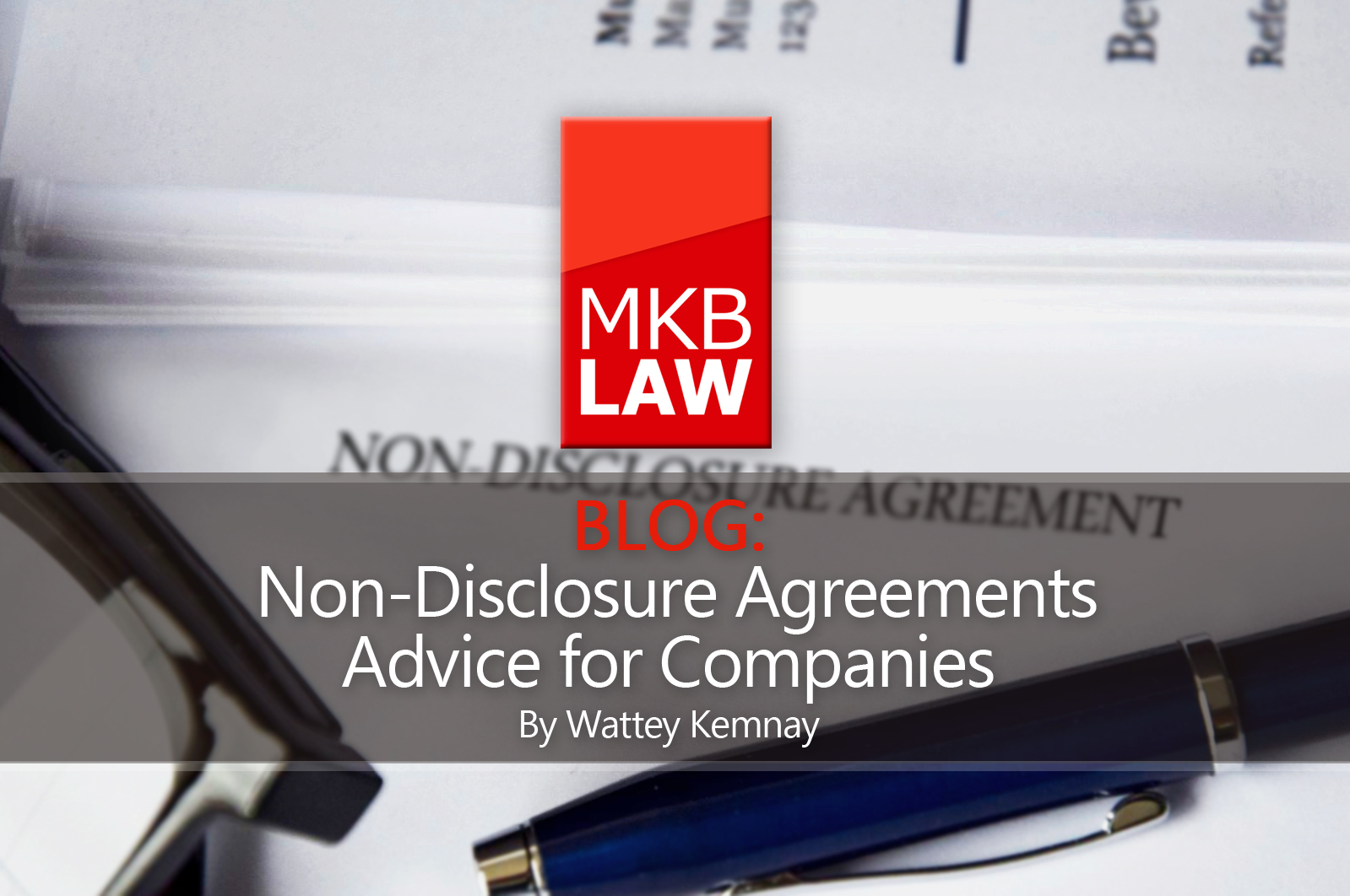 Non Disclosure Agreements Advice For Companies Mkb Law Solicitors