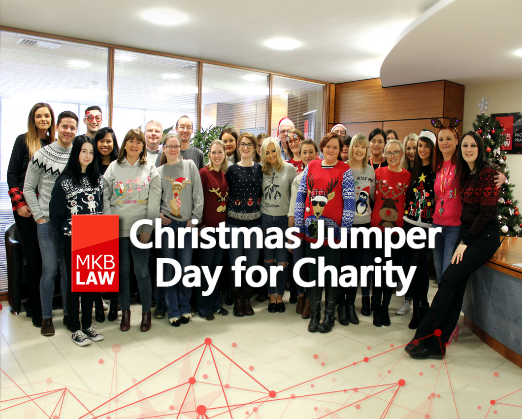 Christmas Jumper Day 2019 Uk.Featured Image Xmas Jumper Day Mkb Law Solicitors